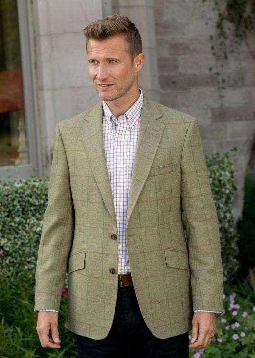Bladen Limited Edition Greenend Tweed Hevingham Jacket