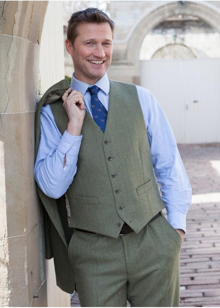 Bladen Limited Edition Tweed Lynford Waistcoat Large Image