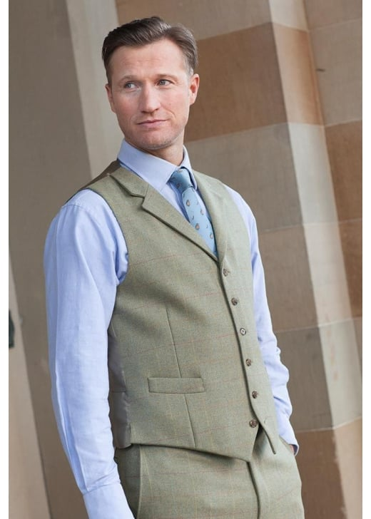 Bladen Limited Edition Tweed Lynford Waistcoat