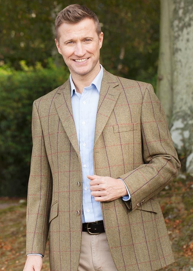 Bladen Tweed Sheringham Jacket  Large Image