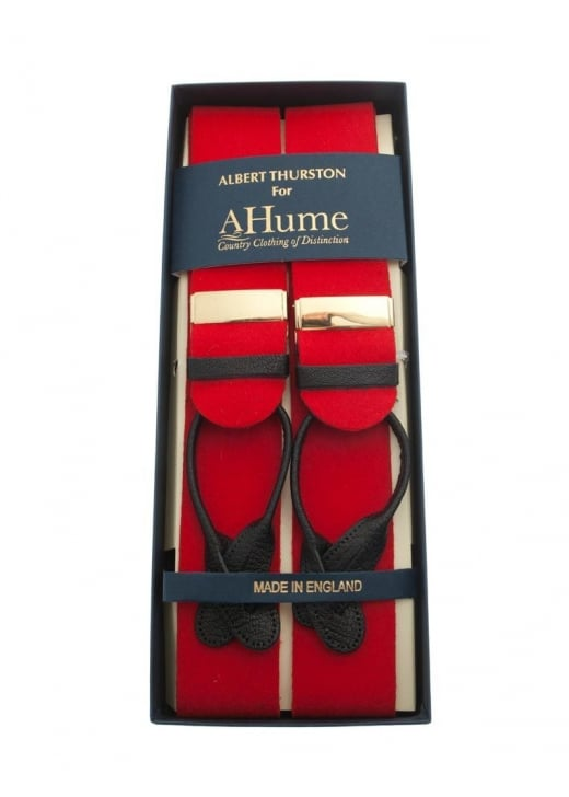 Albert Thurston Boxcloth Braces