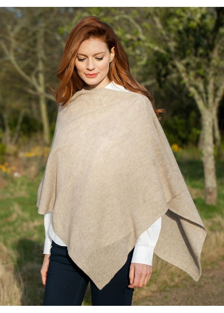 Brodie Cashmere Mini Poncho NEW COLOURS Large Image