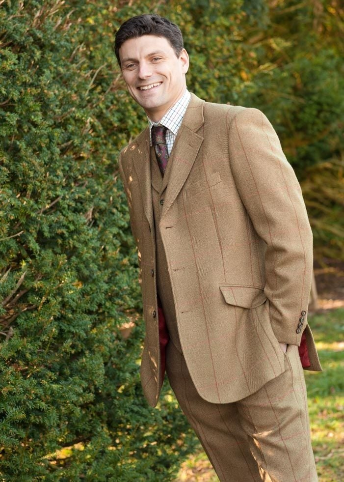 fa7db7465aef5 Brook Taverner Inverness Tweed Jacket - Mens from A Hume UK