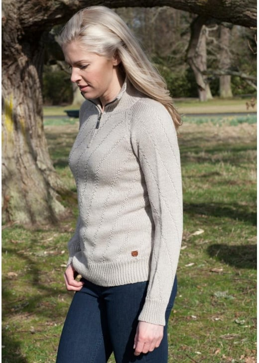 Dubarry Browne Sweater
