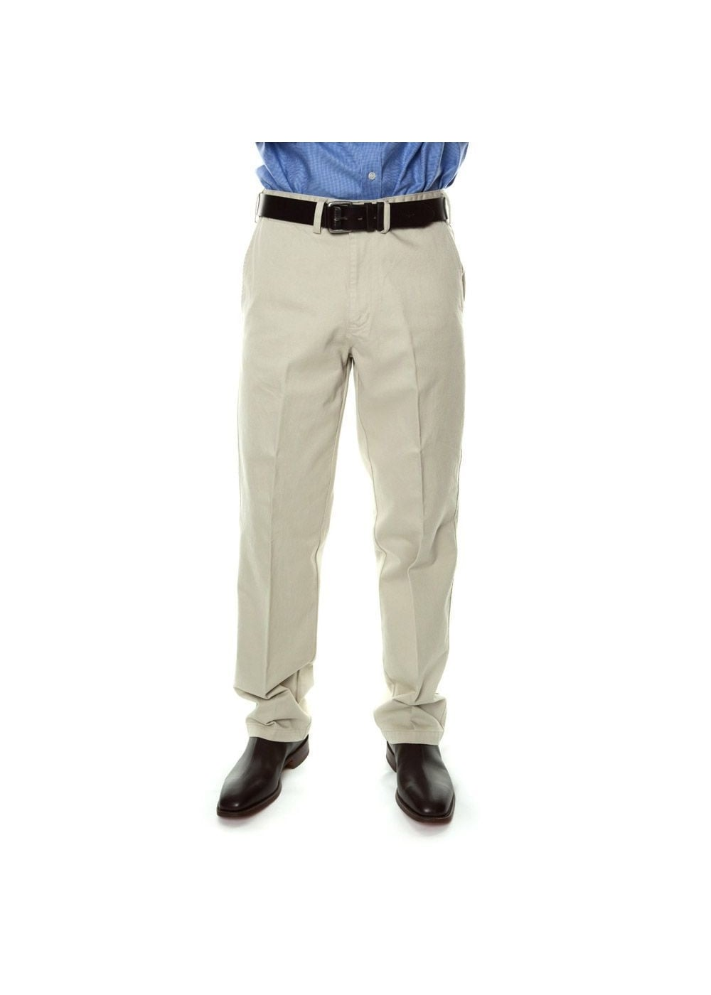 Rm Williams Brushed Cotton Drill Trousers A Hume