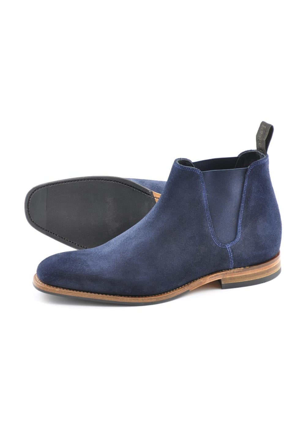 loake caine suede chelsea boots mens from a hume uk