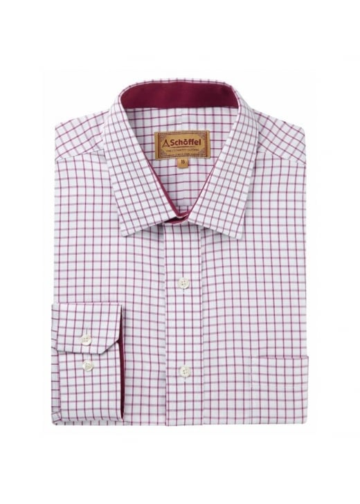 Schoffel Cambridge Check Shirt