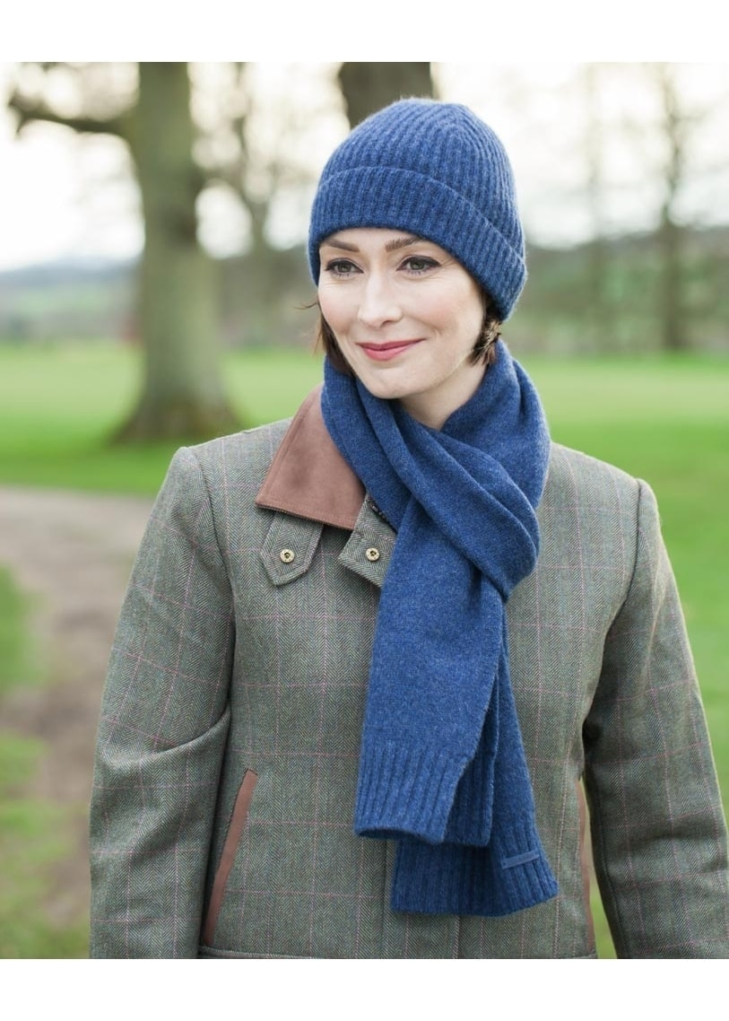 7dd90155 Schoffel Cashmere Beanie Hat - Ladies from A Hume UK