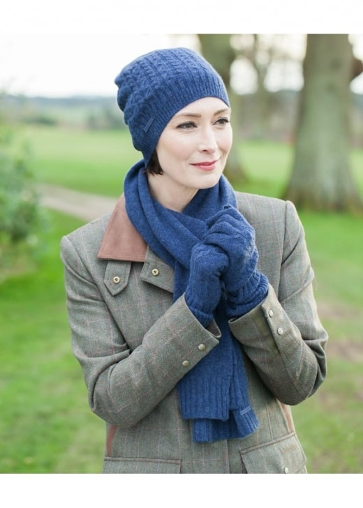 Schoffel Cashmere Cable Hat