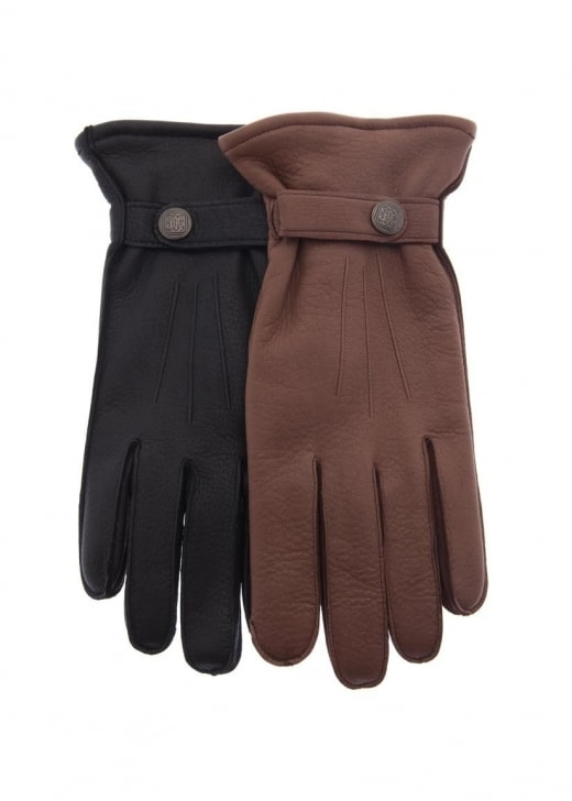 Chester Jefferies Cashmere Lined Deerskin Gloves