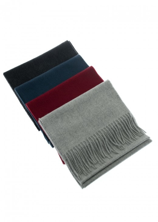 Johnstons of Elgin Cashmere Plain Scarf