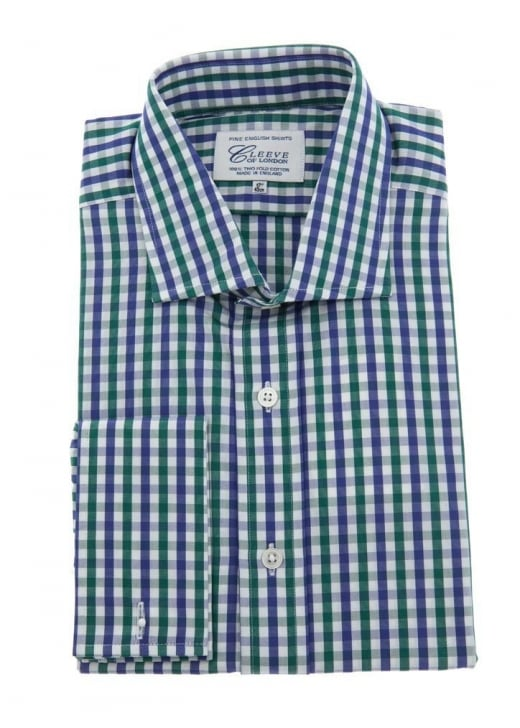 Cleeve of London Gingham Check Shirt