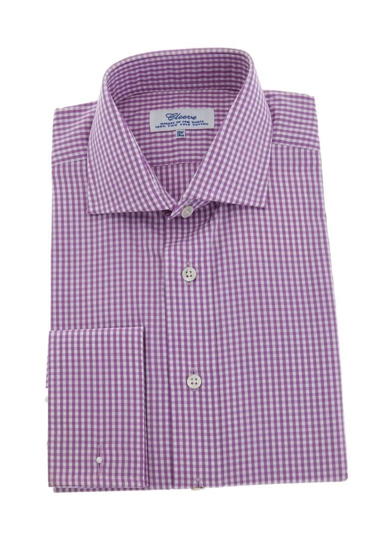 Cleeve of London Gingham Check Shirt  Large Image