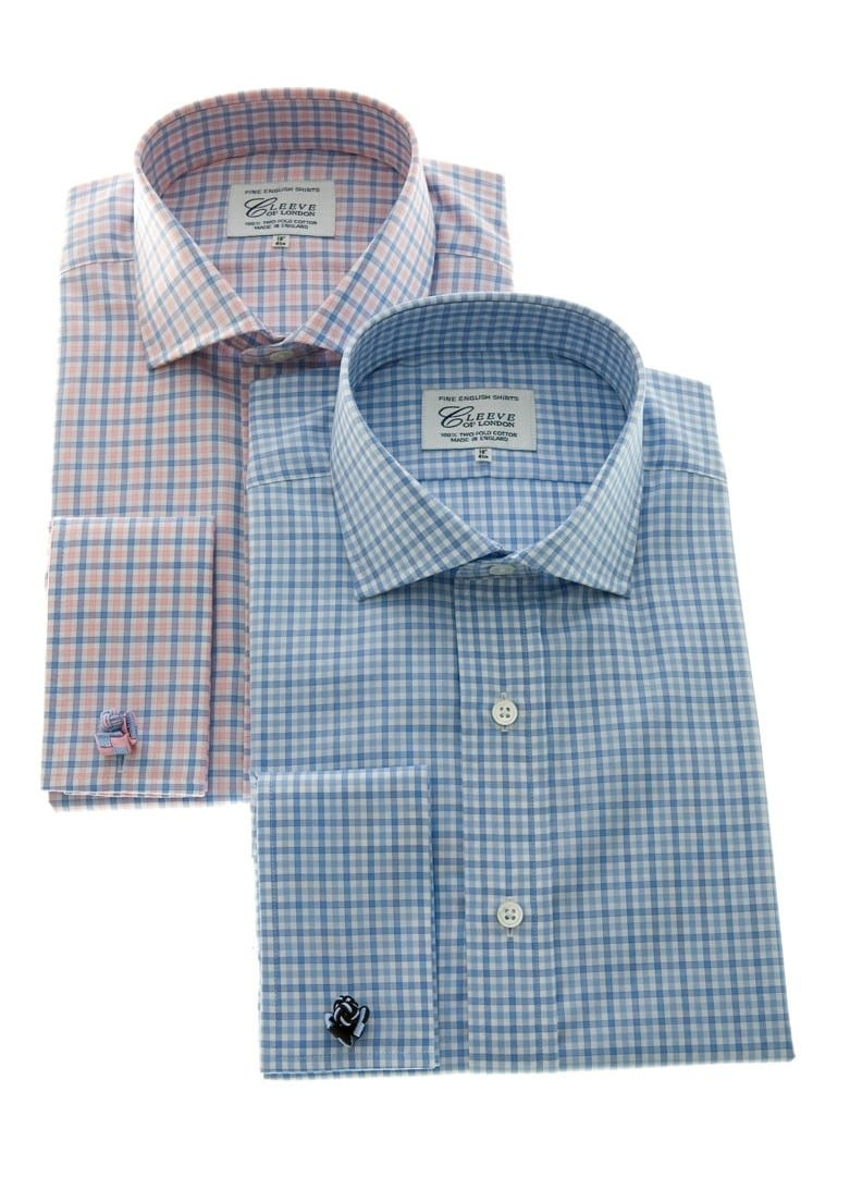 Cleeve of London Mid Gingham Checked Shirt Large Image