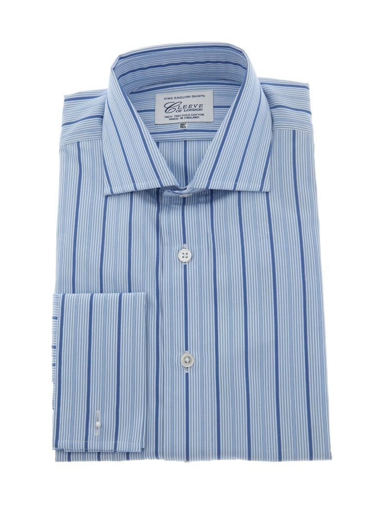 Cleeve of London Striped Shirt Large Image