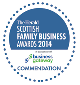 Scottish Family Business of the Year (Small/Medium) 2014