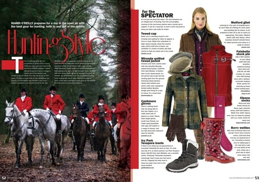 HORSE & HOUND - HUNTING ISSUE 2015