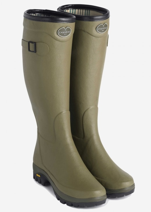 Le Chameau Country Vibram Jersey Ladies Wellingtons