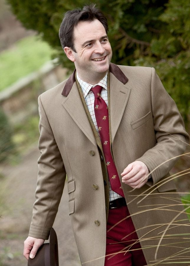 Bladen Covert Coat Mens From A Hume Uk