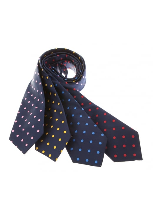 Cravats of London Large Spots Silk Tie