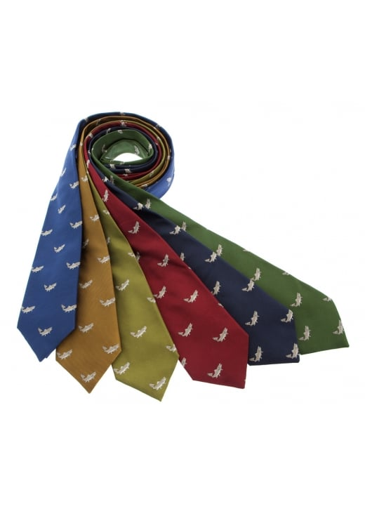 Cravats of London Salmon Silk Tie