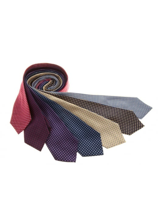 Cravats of London Small Woven Silk Spots