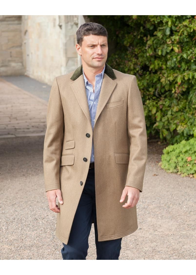Crombie Covert Coat  Large Image