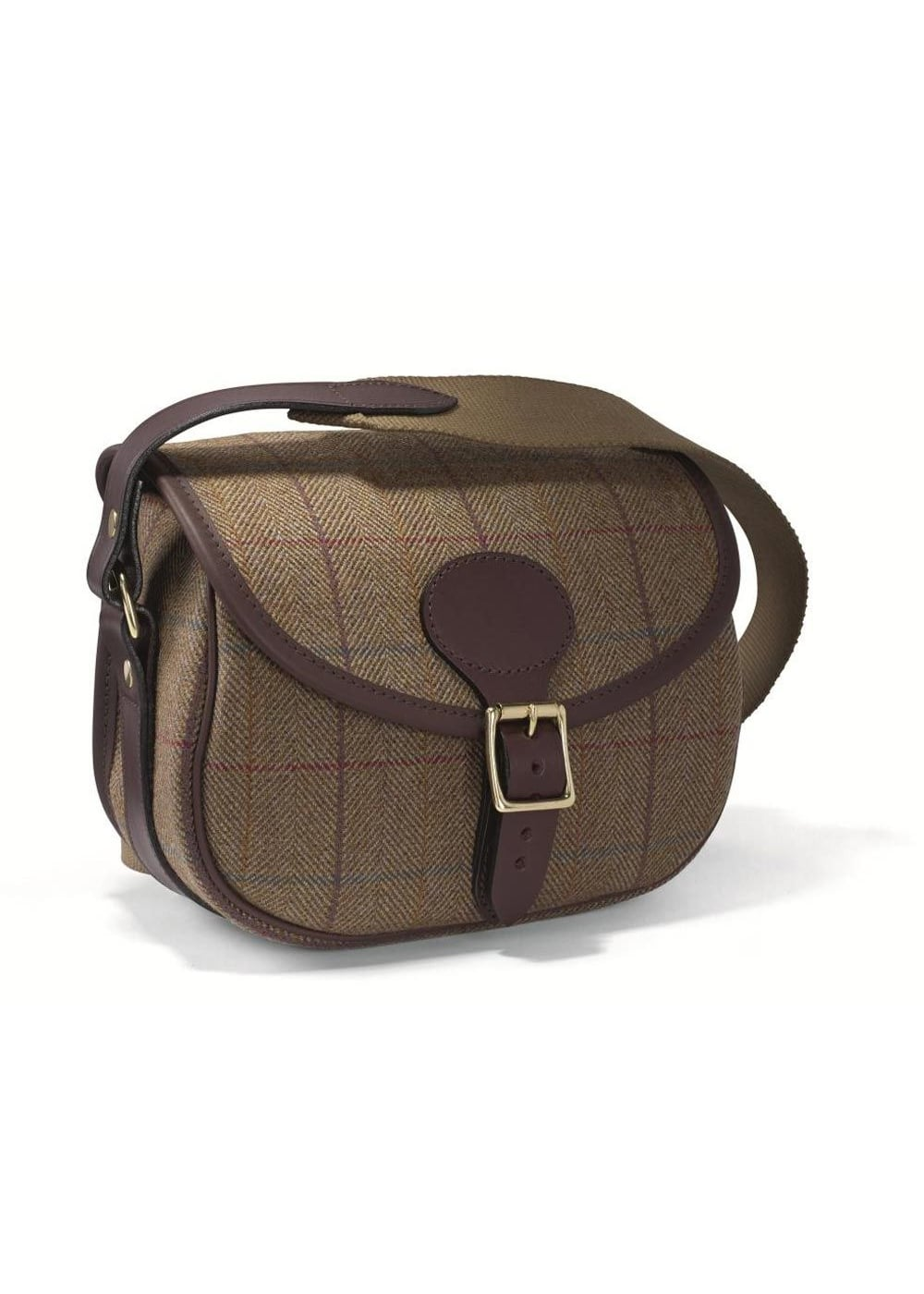 Croots Helmsley Tweed Cartridge Bag Large Image