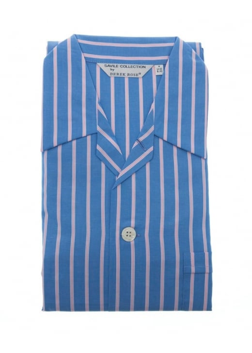 Derek Rose Belmont Stripe Pyjamas