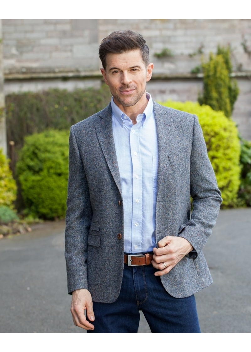 Magee Donegal Tweed Jacket Mens From A Hume Uk