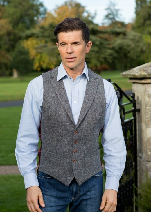 Magee Donegal Tweed Waistcoat