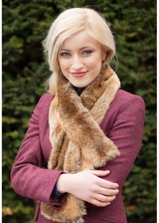 Dubarry Altamont Fur Wrap