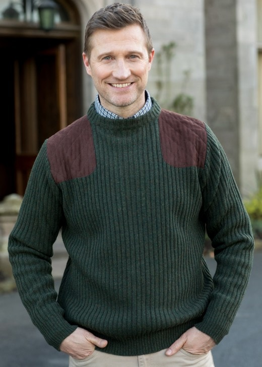 Dubarry Macken Ribbed Shooting Sweater