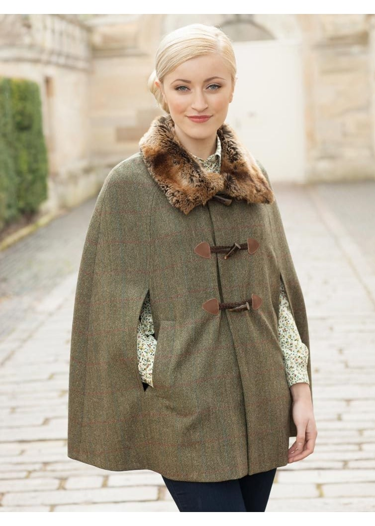 Dubarry Samphire Cape - Ladies from A Hume UK