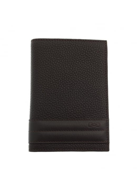 Eden Park Stripe Leather Wallet