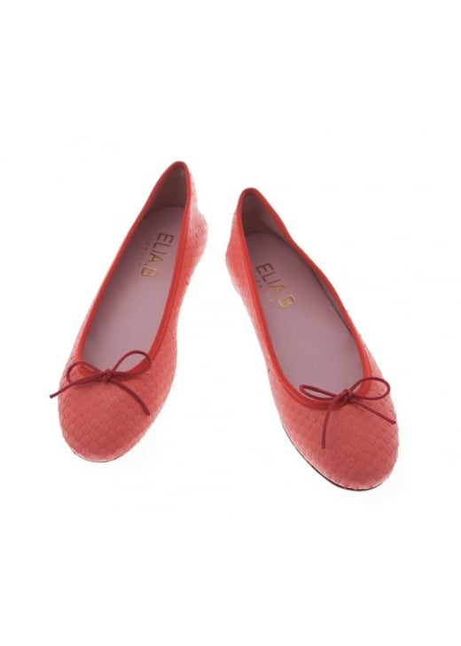 Elia B Stefania Flat Leather Ballet