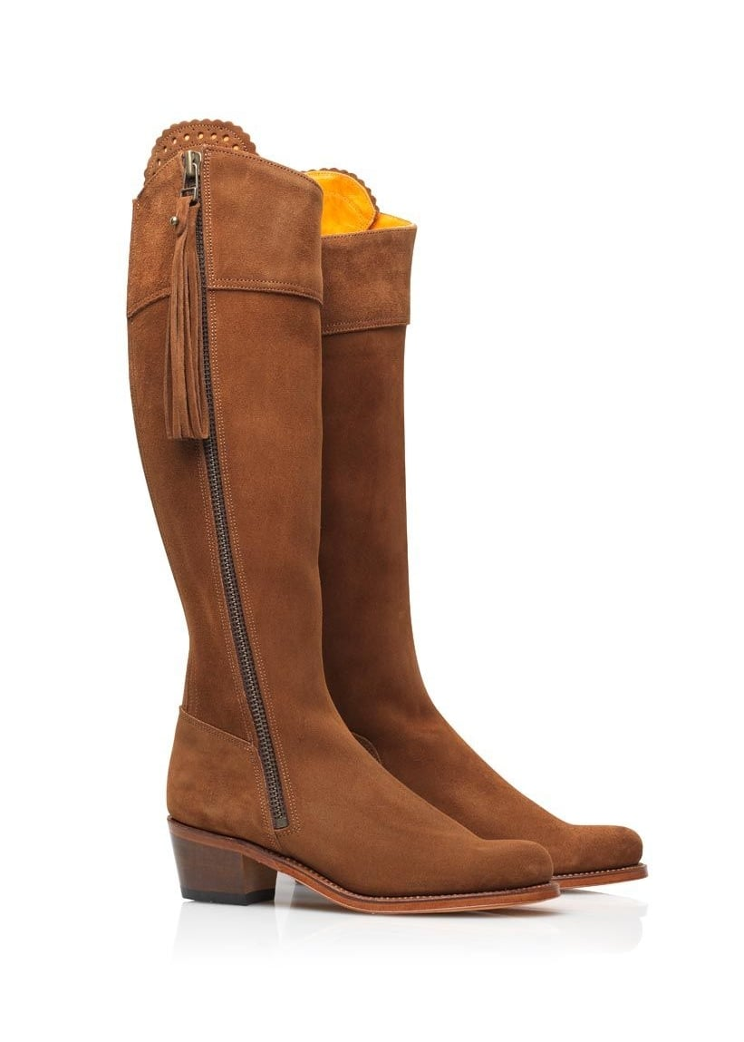 Fairfax and Favor Regina Heeled Boots  Large Image