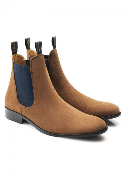Fairfax and Favor Suede Chelsea Boots