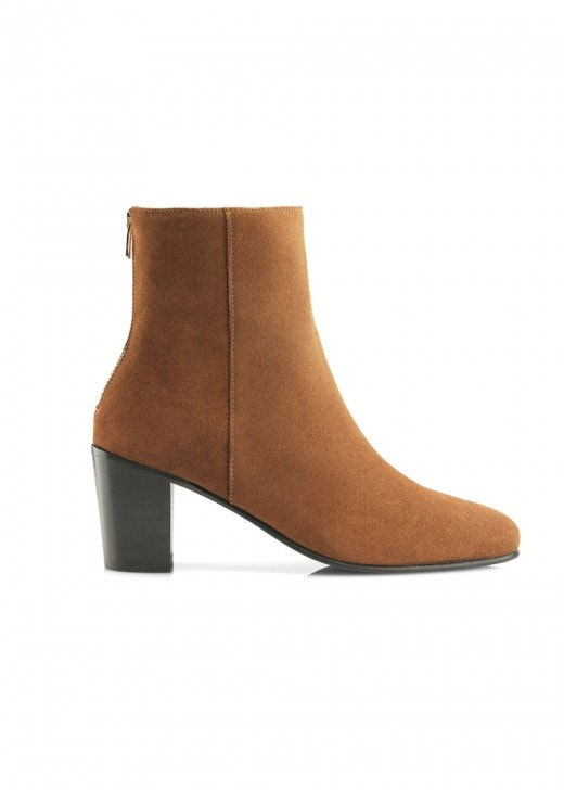 Fairfax and Favor Suede Knightsbridge Ankle Boot