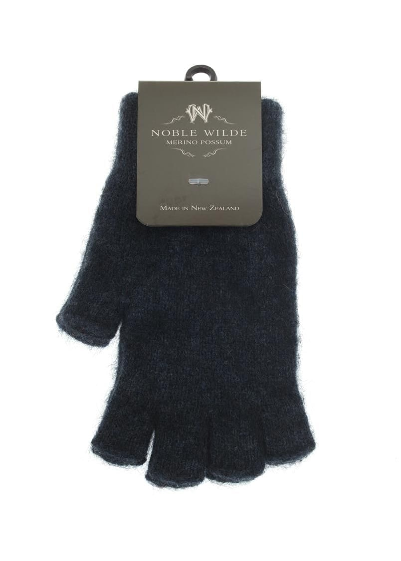 Noble Wilde Fingerless Gloves Ladies From A Hume Uk Knit Hoodie Maroon