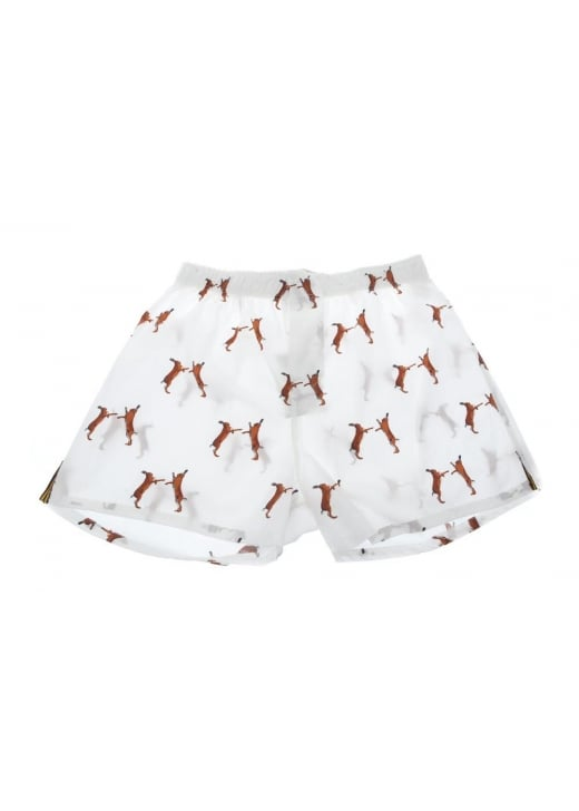 Gibson and Birkbeck Boxing Hare Boxer Shorts