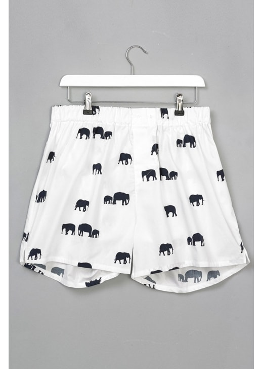 Gibson and Birkbeck Elephant Boxer Shorts