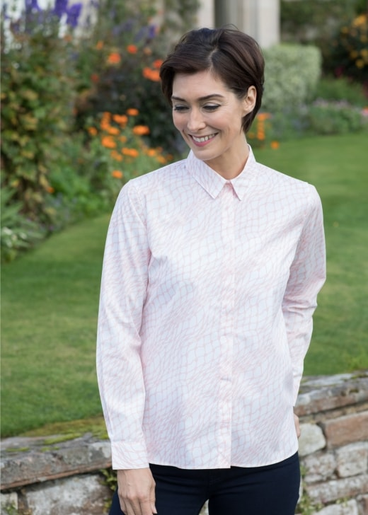 Gibson and Birkbeck Fishing Net Shirt
