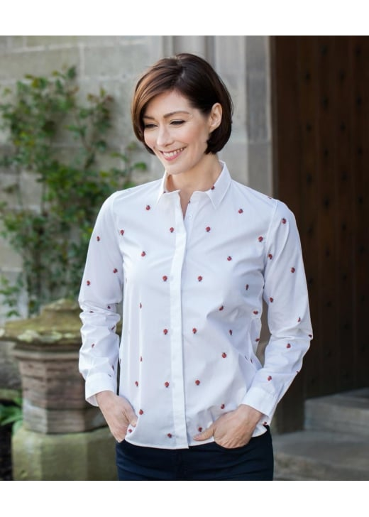 Gibson and Birkbeck Ladybird Shirt