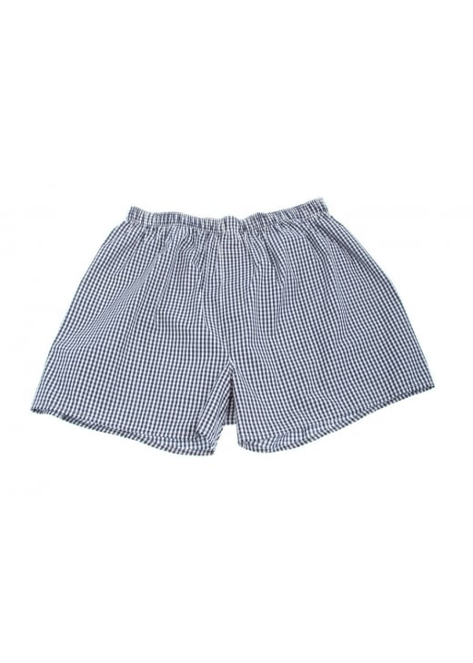 Sunspel Gingham Check Boxer Shorts