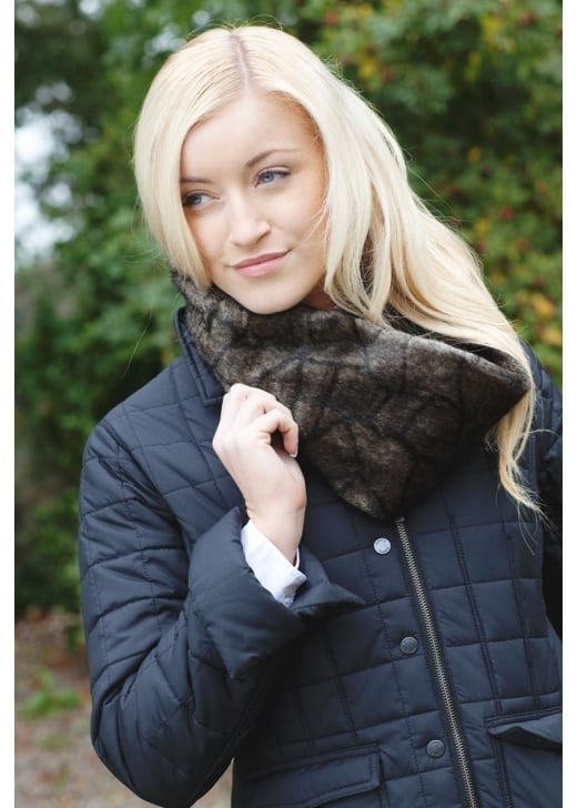 Dubarry Greystones Fur Snood