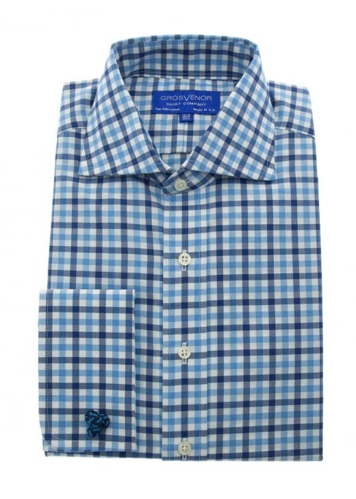 Grosvenor Large Overcheck Shirt
