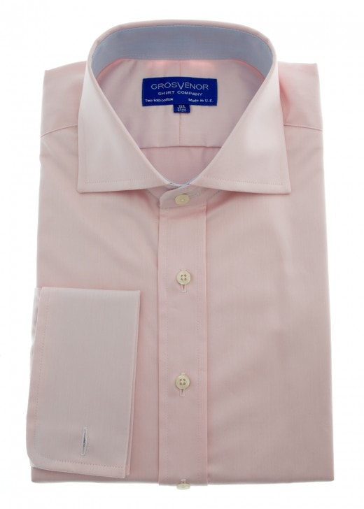 Grosvenor Plain Herringbone Shirt