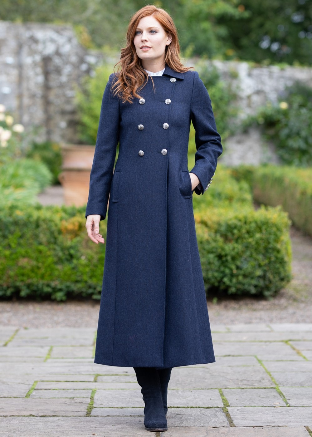 Guinea Trench Coat Ladies from A Hume UK