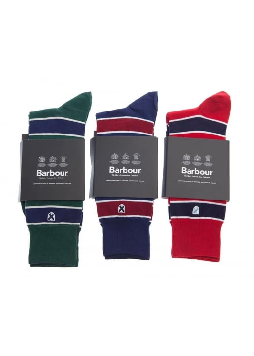 Barbour Hexham Stripe Socks